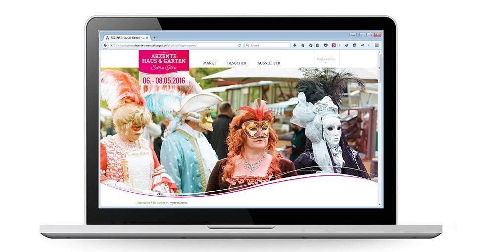 Neue Website der AKZENTE Veranstaltungen