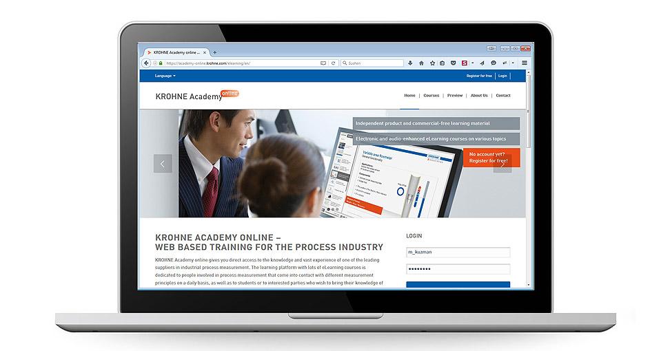 Reponsive Wordpress-Website für KROHNE Messtechnik