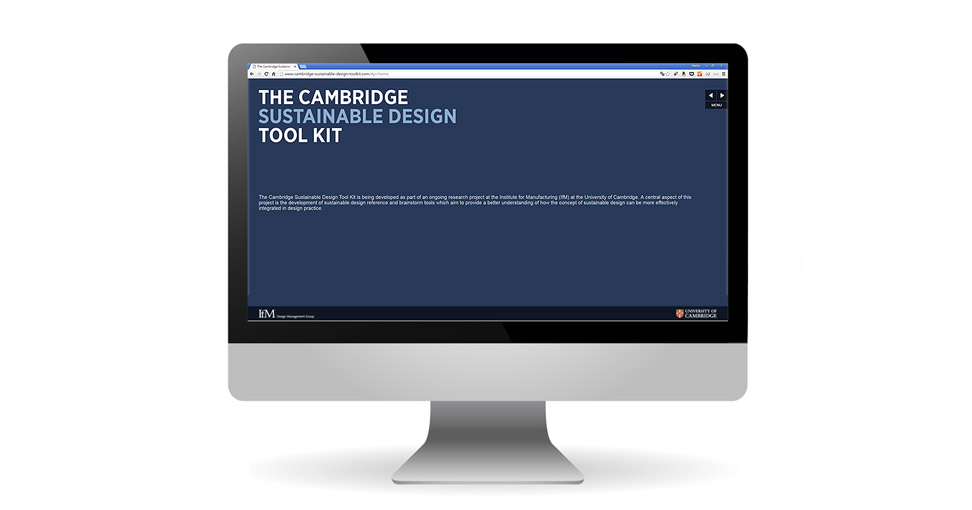Microsite der Cambridge University