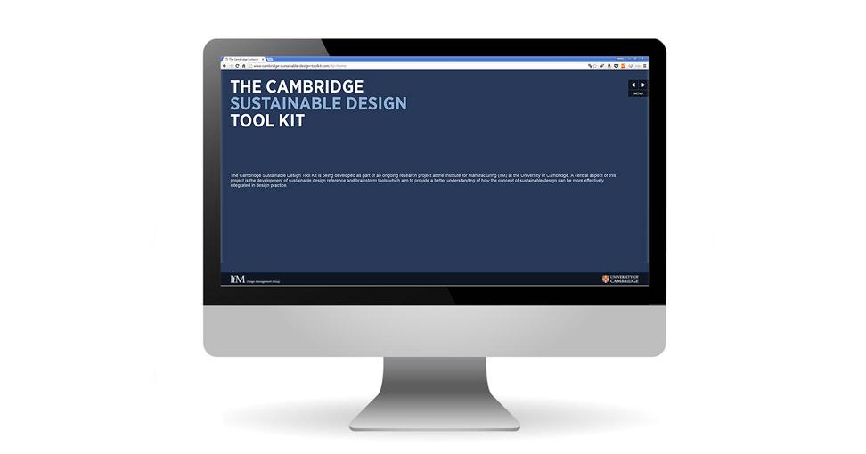 Microsite der Cambridge University