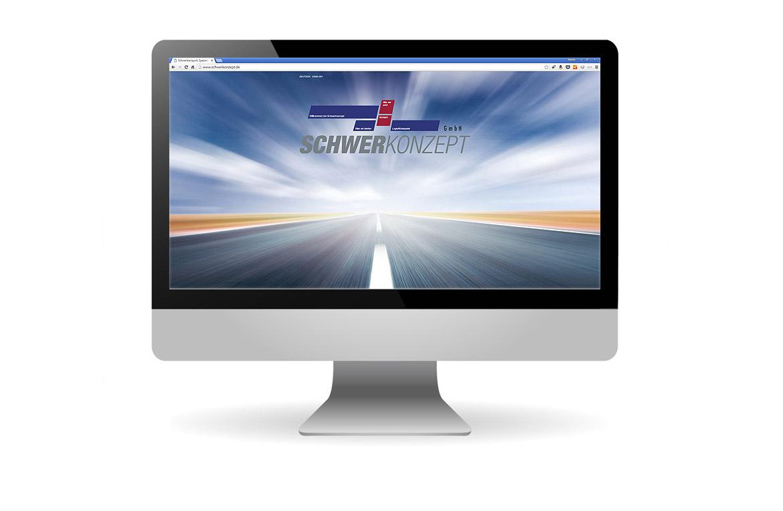 Website für Schwerkonzept GmbH