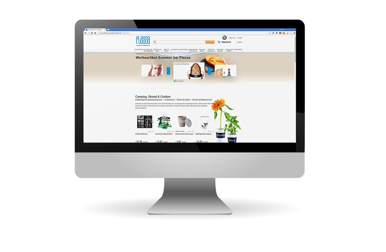 Programmierung des Webshops