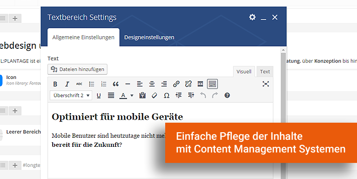 Webdesign Erlangen Wordpress
