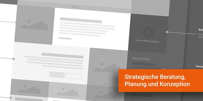 Webdesign Konzeption Strategie